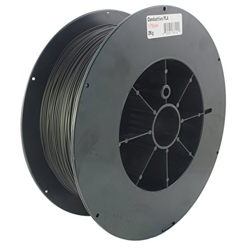 Proto-pasta CDP11720 Electrically Conductive Carbon Spool, PLA Composite 1.75 mm, 2 kg, Black