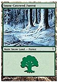 Magic: the Gathering - Snow-Covered Forest - Coldsnap