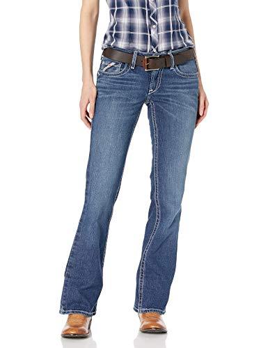 ARIAT Women's FR Mid Rise Boot Cut Jean