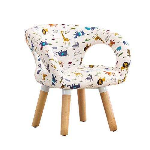 Kinder-Sofa, Kinder Armlehnstuhl mit Muster, Kleinmöbel w/Stabiler Holzbau für Jungen und Mädchen, Armauflage Couch für Vorschulkinder, Leichte Kinder-Sofa-Stuhl,A
