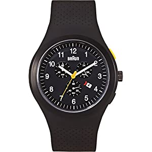 Braun Mens BN0115BKBKBKG Sport Chronograph Analog Display Quartz Black WatchBraun Mens BN0115BKBKBKG S… 3.4 out of 5 stars6 $205.00$205.00
