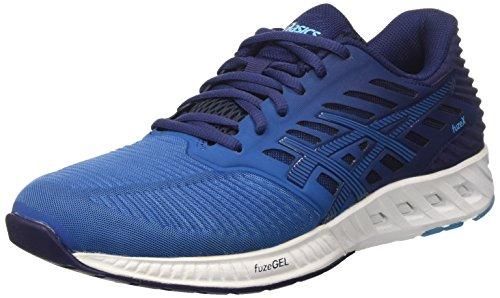 ASICS Men's Fuzex Sneakers, Blue (Indigo Blue/Indigo Blue/Thunder Blue), 5 UK