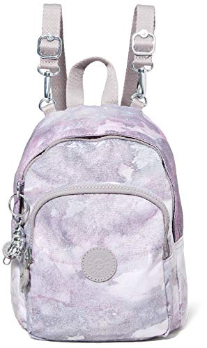 Kipling Womens DELIA COMPACT BACKPACKS, Canyon Mist, 13x18x23.5 cm