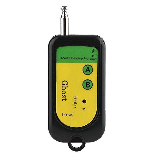 Ymiko Drahtloser Signaldetektor Handy-Signaldetektor Drahtloser Signal-HF-Detektor für Hotels, Restaurants, öffentliche Toiletten und Umkleidekabinen