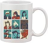 Characters Artwork - Taza de cerámica, diseño de Stella