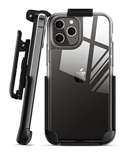 Encased Belt Clip Compatible with Spigen Quartz Hybrid Compatible with iPhone 12 Pro Max (Holster Only - Case is not Included)