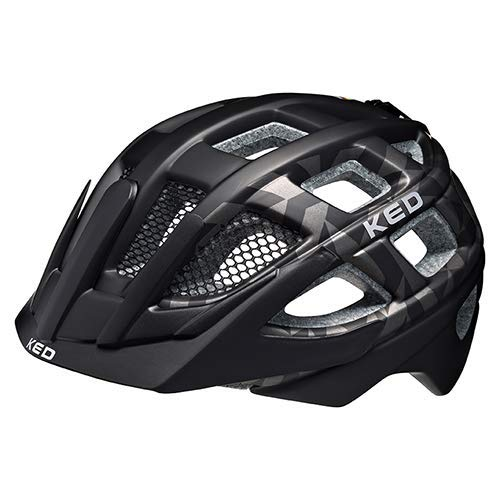 Fahrradhelm Kailu - Allround-Helm in robuster maxSHELL- Technologie, Quicksafe- und Quickstopp-System - (S (Kopfumfang 49-53 cm), Black Anthracite Matt)