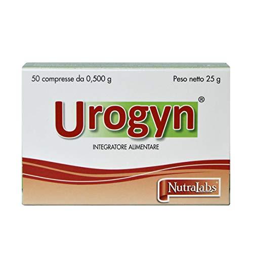 Nutralabs Urogyn Integratore Alimentare A Base Di D-Mannosio, Echinacea E Finocchio, 50 Compresse - 80 Gr