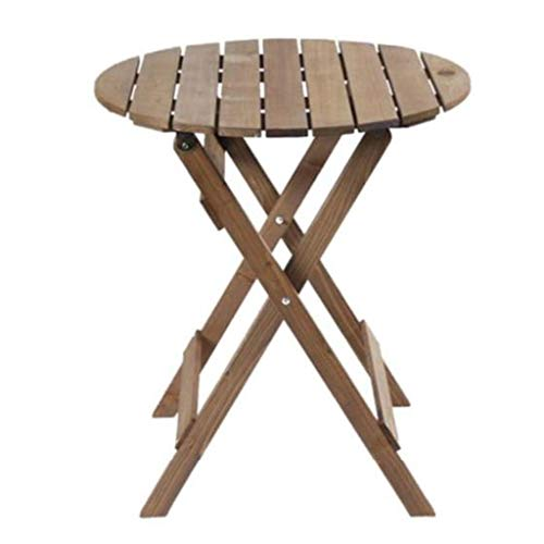 WZHFOLDINGTABLE massief hout opvouwbare eettafel Amerikaanse landelijke stijl tuin park tafel en stoel Set meerdere stijl B