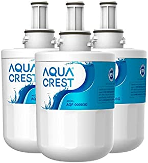 AQUACREST DA29-00003G Refrigerator Water Filter, Compatible with Samsung DA29-00003G, DA29-00003B, DA29-00003A, Aqua-Pure Plus, HAFCU1 (Pack of 3, Package May Vary)