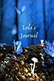"""Lola's Journal: Personalized Lined Journal for Lola Diary Notebook 100 Pages, 6"""" x 9"""" (15.24 x 22.86 cm), Durable Soft Cover - K L Salmon"""