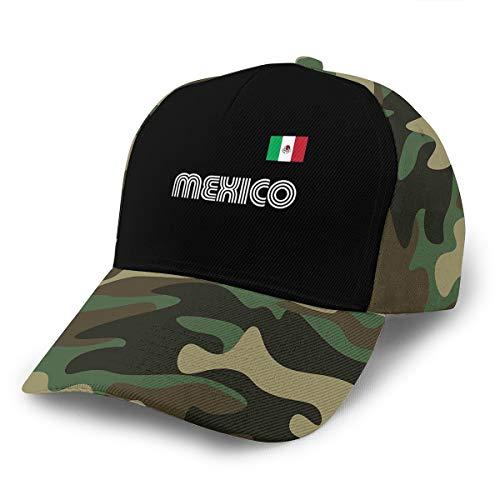 Mexico Soccer Jersey Baseball Cap Adjustable Cap Ordinary Hat Moss Green