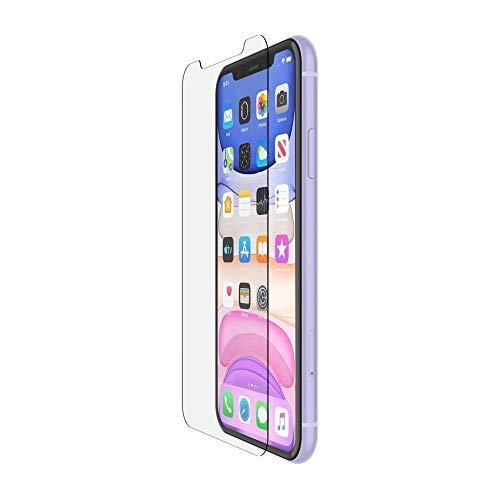 Belkin ScreenForce InvisiGlass Ultra Bildschirmschutz für iPhone11 (Bildschirmschutzfolie für iPhone11, auch kompatibel mit iPhoneXR)