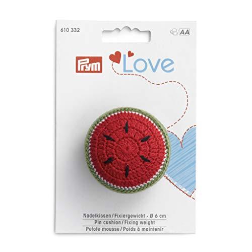 Prym 610332-1 Love Pin Kissen/Fixiergewicht Melone, Grün, Einheitsgröße