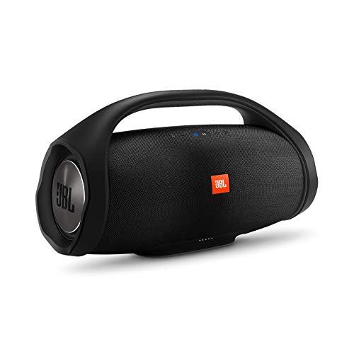 Best Price! JBL Boombox Portable Bluetooth Waterproof Speaker (Black) (Renewed)