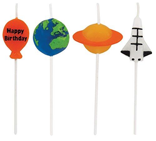 Creative Converting Picks Candle, 3', Multicolored