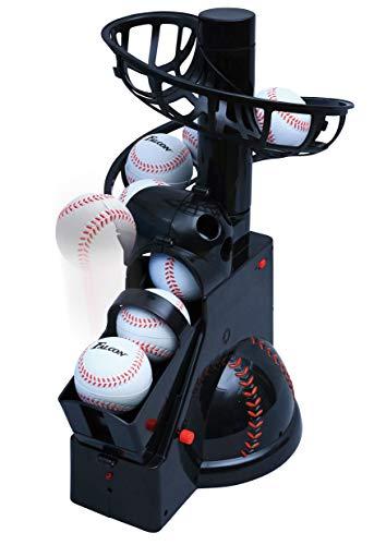 サクライ貿易 FALCON(ファルコン) 野球 トスマシーン ピッチングマシン バッティングマシーン 前からトスマシン FTS-100N21 ブラック