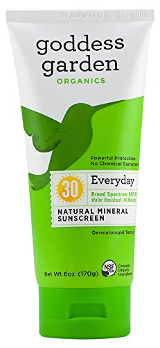 Goddess Garden Sunscreen - Organic - Natural - Sunny Body - SPF 30 - 6 oz - Each x 1 by Goddess Garden