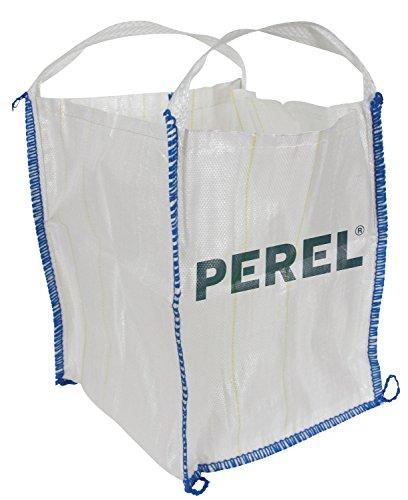Perel SDB300 - Sacco con 2 manici, Polipropilene, 300 L, 65 x 65 x 71 cm