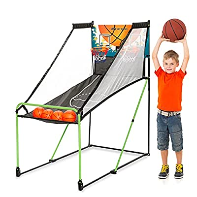 Basketball Arcade Game, Indoor Play Equipment - Sports Activities & Birthday Party Games for Kids