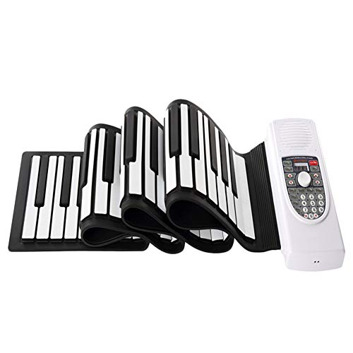 Purchase 1: 1 Keyboard Flexible Roll Up Piano Piano Sound Electronic Music Instrument Hand Roll Pian...