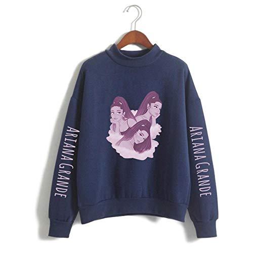 jinzhouwa Arian/_a Grand/_e Fashion Casual Round Neck Sweatshirt Long Sleeve Men Women Pullover Loose Autumn Winter Sweater