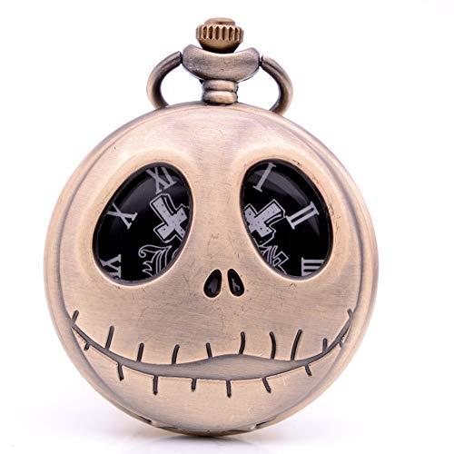 Beiwei - Reloj de Bolsillo con Cadena para niños, diseño de Gato de