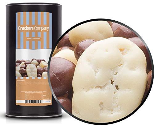 1 x 850g Joghurt Schokolade Vollmilchschokolade Mischung mit Erdnuss Rosine Cashew Ananas Banane Haselnuss Paranuss Mandel