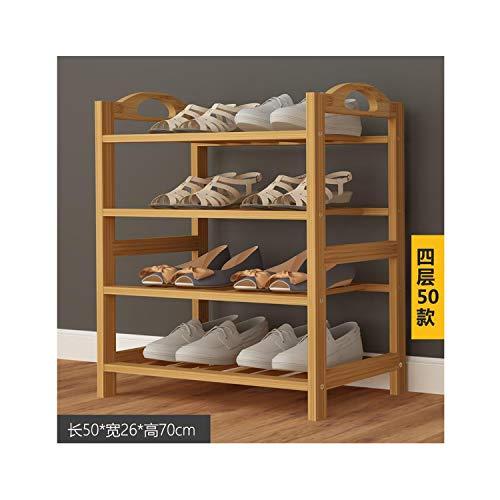 Bamboo Wood Shoe Rack Entryway Shoe Shelf Storage Organizer Plant Stand Home Storage Shelf Rack Organizer Bathroom KitchenGreen