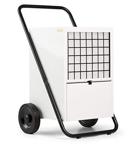 Climia CTK 600 elektrischer Bautrockner, Luftentfeuchter (max. 60 l/Tag) geeignet für Räume bis 600 m3