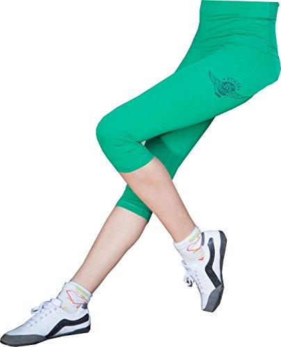 STILYA Sportswear Company Mujer Pantalones de Deporte de Culturismo de chándal Capri Legging Bodybuilding Slim Fit 5909 M