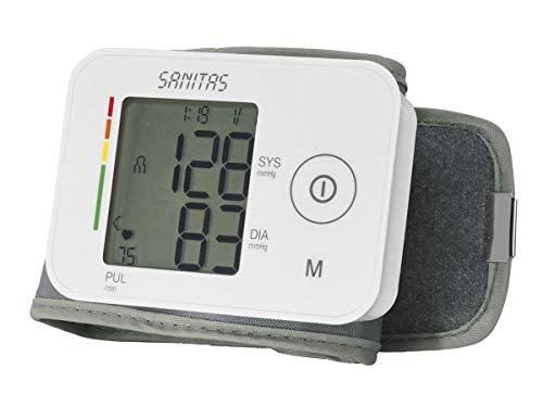 Sanitas SBC 26 Blutdruckmessgerät Messgerät Pulsuhr Handgelenk Blutdruckmesser