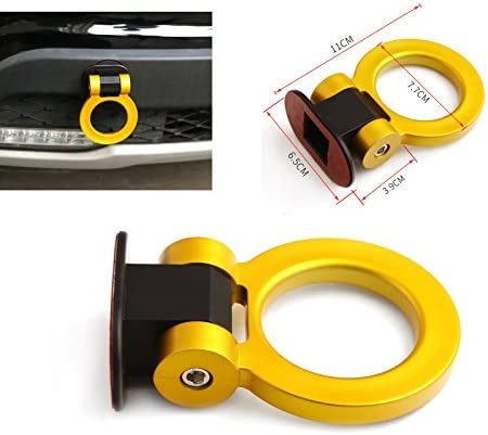 Aishun Dtouch IS-07220 Universal ABS Blue Bumper Car Sticker Dummy Tralier Tow Hooks Kit Car Series of Exterior Auto Accessories