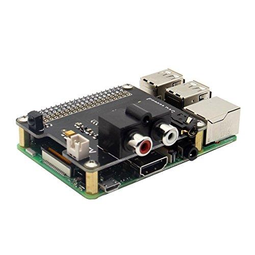 LaDicha Scheda di Espansione X900 HiFi Dac Es9023 per Raspberry Pi 3 Modello B / 2B / A + / Zero W