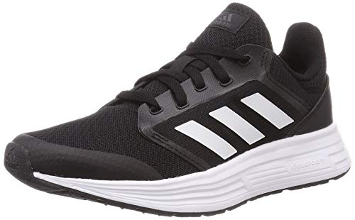 Adidas Galaxy 5, Zapatillas de Correr Mujer, Negro (Core Black/Footwear White/Grey), 36 EU