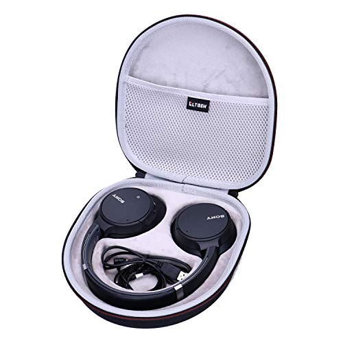 LTGEM EVA Hard Case for Sony WH-CH700N Wireless Bluetooth Noise Canceling Over The Ear Headphones - Travel Protective Carrying Storage Bag