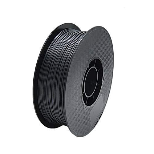 LHF PLA Filament Carbon Fiber,-1kg Spool,1.75mm,3d Printer Filament Dimensional Accuracy + - 0.02 Mm,Black Carbon Fiber Pla 1kg