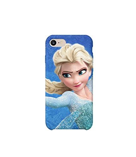 GlamourLab Frozen Princess Elsa Character Protective Case Cover Hard Plastic Handyhülle Schutz Hülle for iPhone 6 / iPhone 6s Regalo di Natale