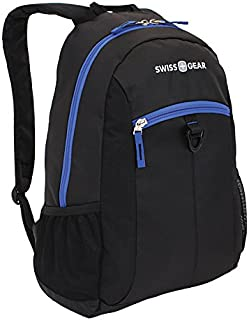 SwissGear(R) Student Backpack for 15in. Laptops, Black/New Royal