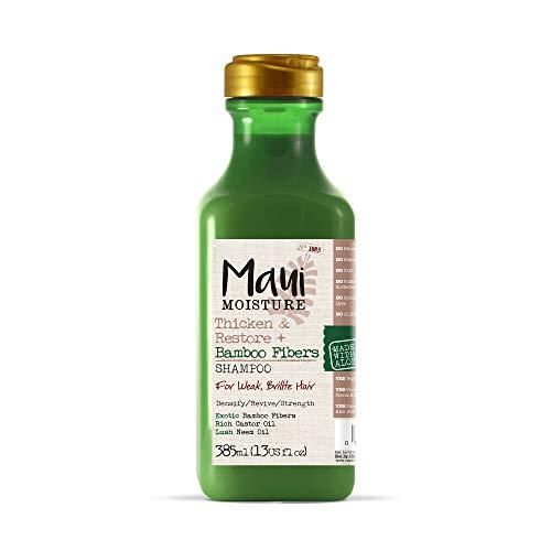 Maui Moisture Hair Thickening Vegan Shampoo, Bamboo Fiber & Aloe Vera, 385 ml 6230400