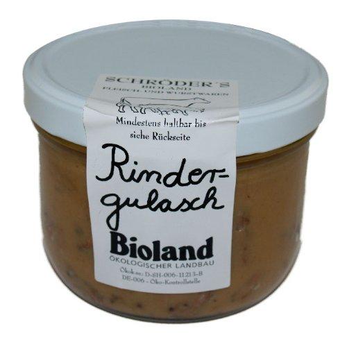 Schröder's Bio Rindergulasch (400 g) - Bio