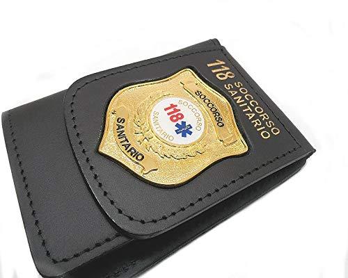 Portemonnaie mit Plakette 118 Sanitario