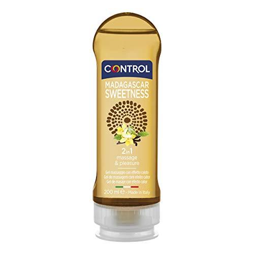 Control Gel Massaggio 2in1 Lubrificante e Idratante Madagascar Sweetness Vaniglia - 100{3a1f0b7364b00ab9985faa87c0e6e99fcba3e9a169a00248076f2fb43bf1fa8d} Made in Italy