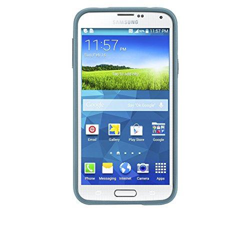 Case-Mate CM030905 Emerge Schutzhülle für Samsung Galaxy S5/S5 Neo mit Dreieckmuster schwarz Designed for Samsung