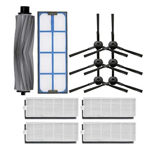 MU CHAOHAI Kit d'accessoires Aspirateur Filtre Rouleau de Brosse Latérale pour ILIFE A6 A8 X620 X623