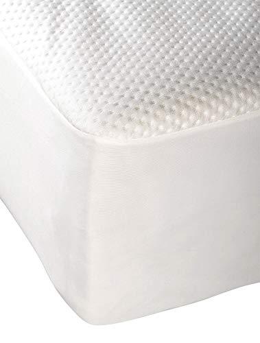 Pikolin Home - Protector/cubre colchón de bambú impermeable, transpirable y extra confortable gracias a su acabado en Jacquard