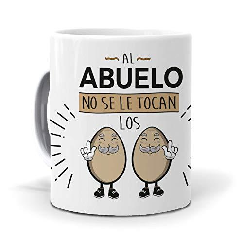 Taza Al Abuelo no se le tocan los Huevos