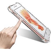GANAN - Funda iPhone 7 Plus/ 8 Plus [Ultra Hybrid] Resistante, Anti-Rasgunos [Transparente] Anti-Choque, Bumper Consolidado, Carcasa Funda (iPhone 7Plus /8Plus)