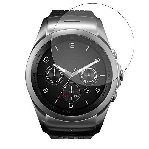 Vaxson 3 Unidades Protector de Pantalla de Cristal Templado, compatible con LG G Watch Urbane LTE Hybrid Watch, 9H Película Protectora Film Guard Nueva Versión