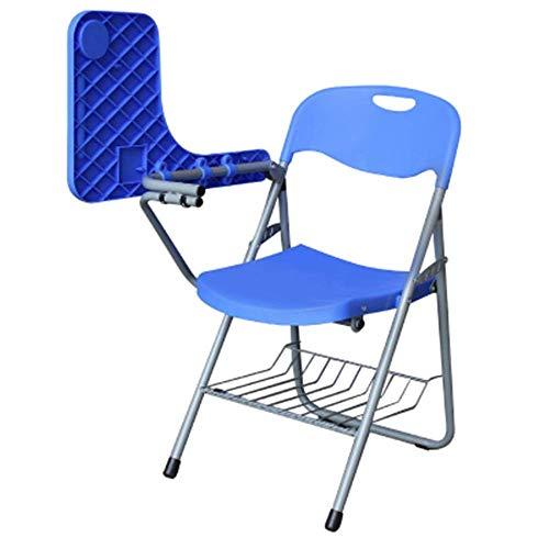 QGL-HQ Bureau en plastique Chaise ordinateur avec le président du conseil d'écriture simple extérieur Chaise pliante